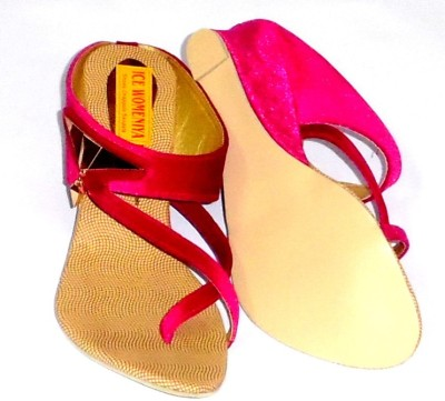 ice womeniya Women Pink Wedges