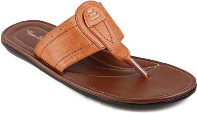 True Soles Men Tan Sandals