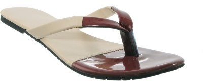 Cws Women Beige, Tan Flats