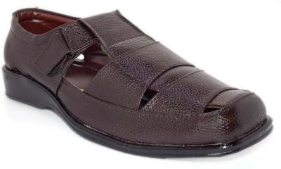Aleg Men Brown Sandals