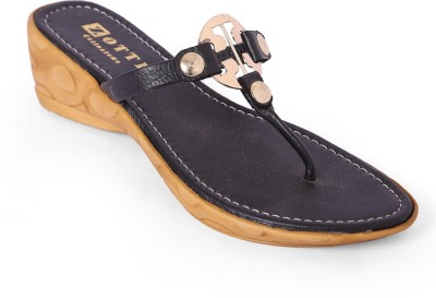 Zotti Women Black Wedges