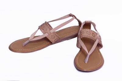 Pu-Good Women Brown Flats
