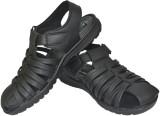 Human Steps Men Black Sandals