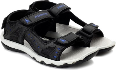 Power Men Black Sandals