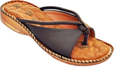 DayV Women Brown Sports Sandals