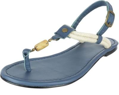Etromilano Girls Blue Flats