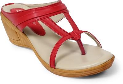 Bellafoz Women Red Heels