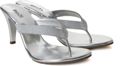 Inc.5 Women Women Silver Heels