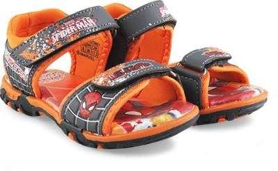 Spiderman Boys Orange Sandals