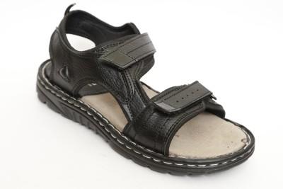 Roony Men Black Sandals