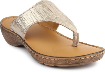 La Briza Women Gold Wedges