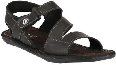 Jacs Shoes Men Black Sandals