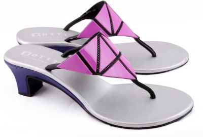 Zotti May Women Purple, Pink Heels