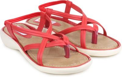 Digni Women Red Flats