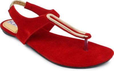 SRS Women Red Flats