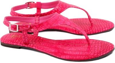 Zotti Croco Women Pink Flats