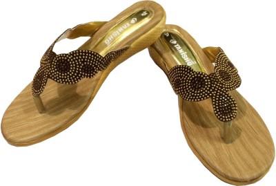 Tanishq Women Brown Flats