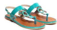 Craze Shop Women Blue Sandals