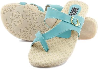 Anupamaa Girls Green Sandals