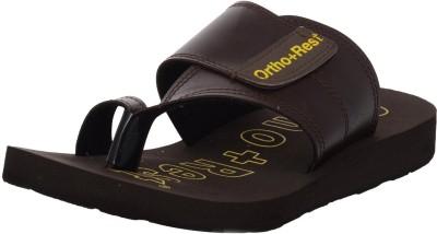 Ortho + Rest Men Brown Sandals