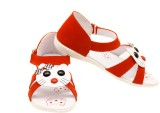 Luca Fashion Girls Strappy Sandals (Red)