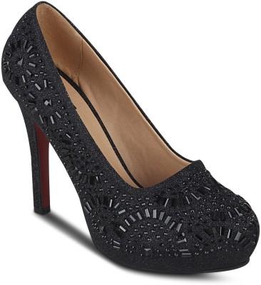 Kielz Women Black Heels