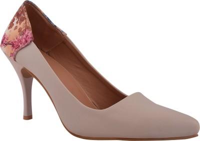 Advin England Women Beige Heels