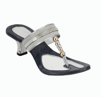 skyler Women Blue Heels
