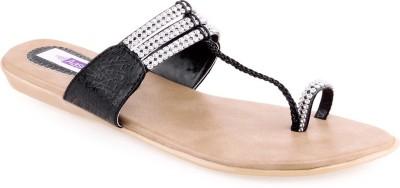 Aashka Women Black Flats