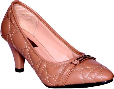 Credos Women Beige Heels