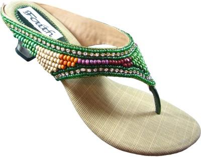 Faith 1000137 Women Green Heels