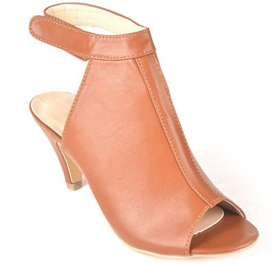 Ace Rider Women Orange Heels