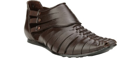 Imparadise Footwear Men Brown Sandals