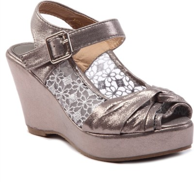 Missoni Women Grey Wedges