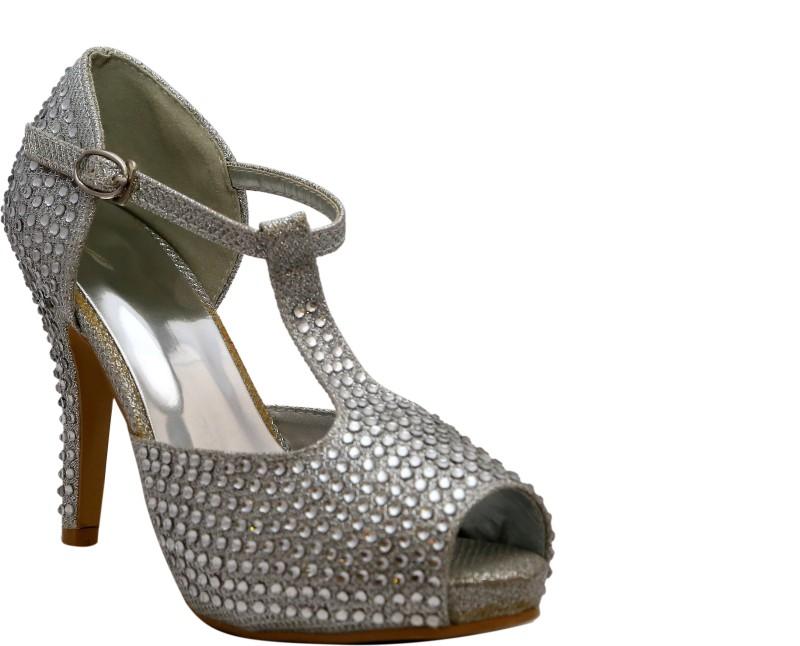 Rialto Women Silver Heels