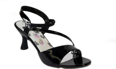 Remson India Women Black Heels