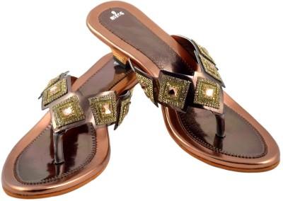 Walk N See Women Burgundy Heels