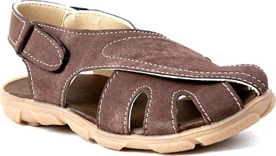 Snappy Boys Brown Sandals