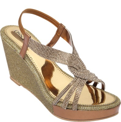 Alesso Women Gold Wedges