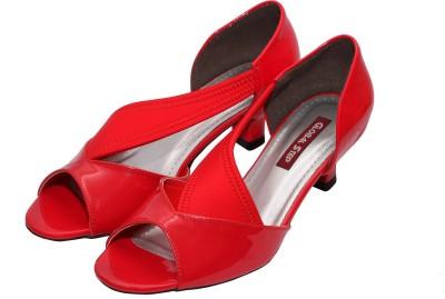 Global Step Women Red Heels