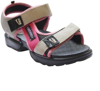 ABS Women Pink Sports Sandals