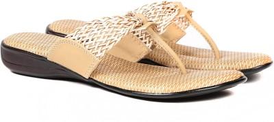 Ka Fashion Women Beige Flats