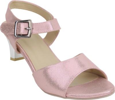 Glitzy Galz Women Pink Heels