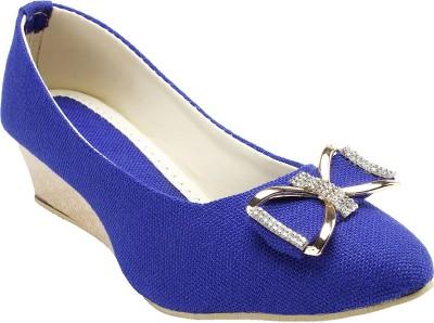 Hansfootnfit Women Blue Wedges