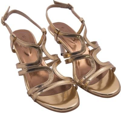 Siendo Desi Women Gold Heels