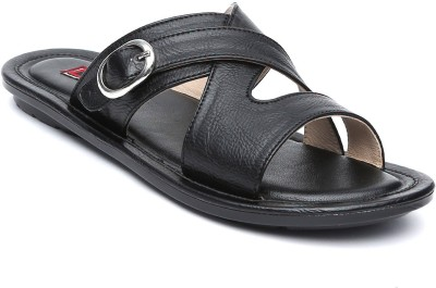 Gressum Men Black Sandals
