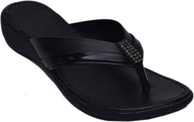 Aadolf Women Black Flats