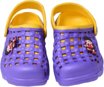 Crocslite Boys, Girls Purple Sandals