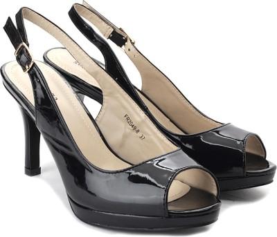 Solovoga Upaten Women Black Heels