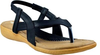 Supreme Leather Women Black Heels